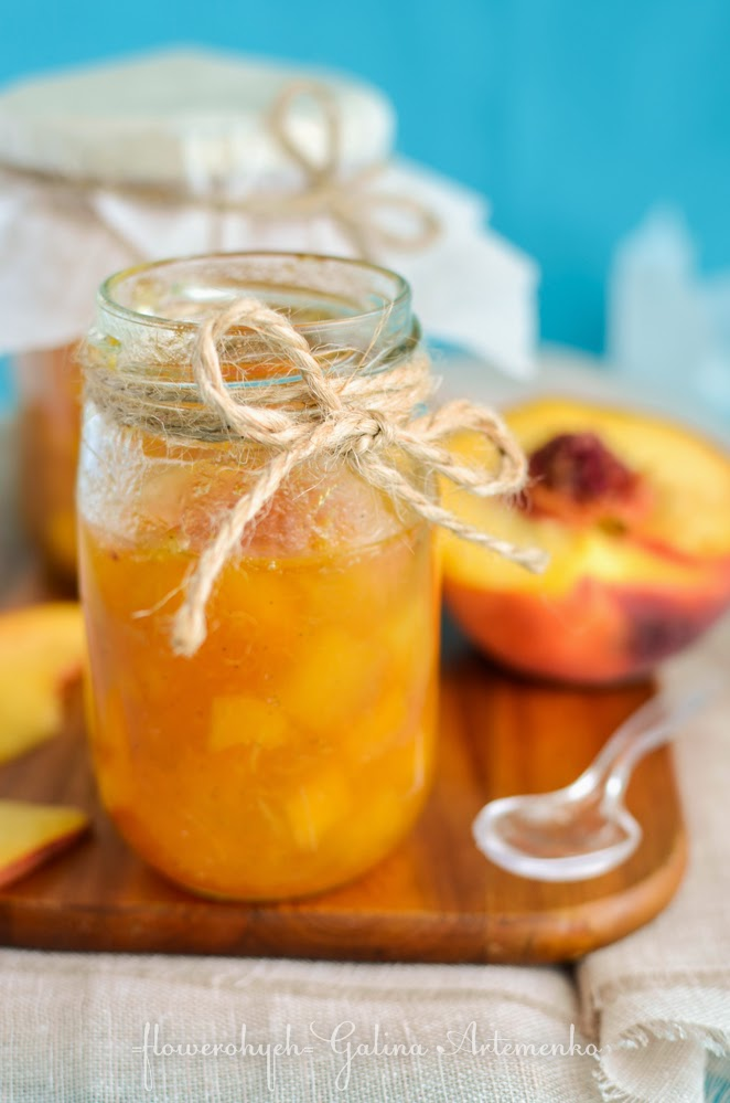 варенье из персиков