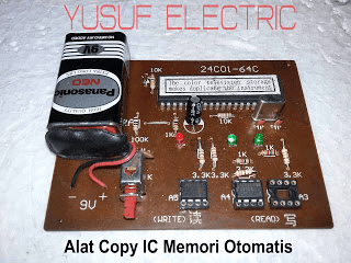Alat Copy IC Memori Versi Otomatis