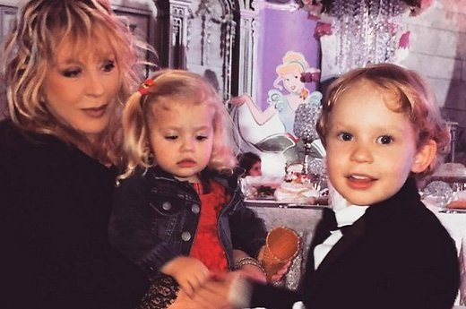Daughter Orbakaite educates Lisa and harry galkin children Pugacheva