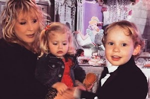 Daughter Orbakaite educates children Pugacheva