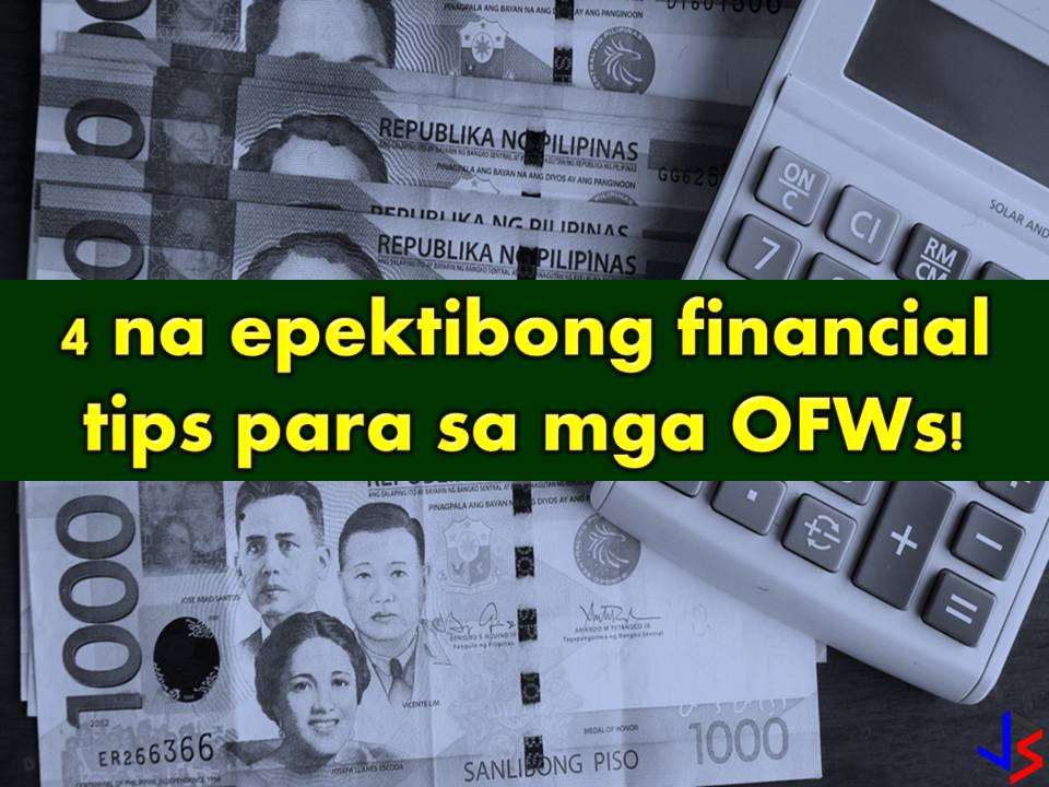 To provide the needs and to secure the family's future. This is the most common reason why many Filipinos decide to work abroad. But as an Overseas Filipino Workers (OFW) working overseas is not just about securing our family's needs, it is also about protecting ourselves and preparing for our own future or retirement.