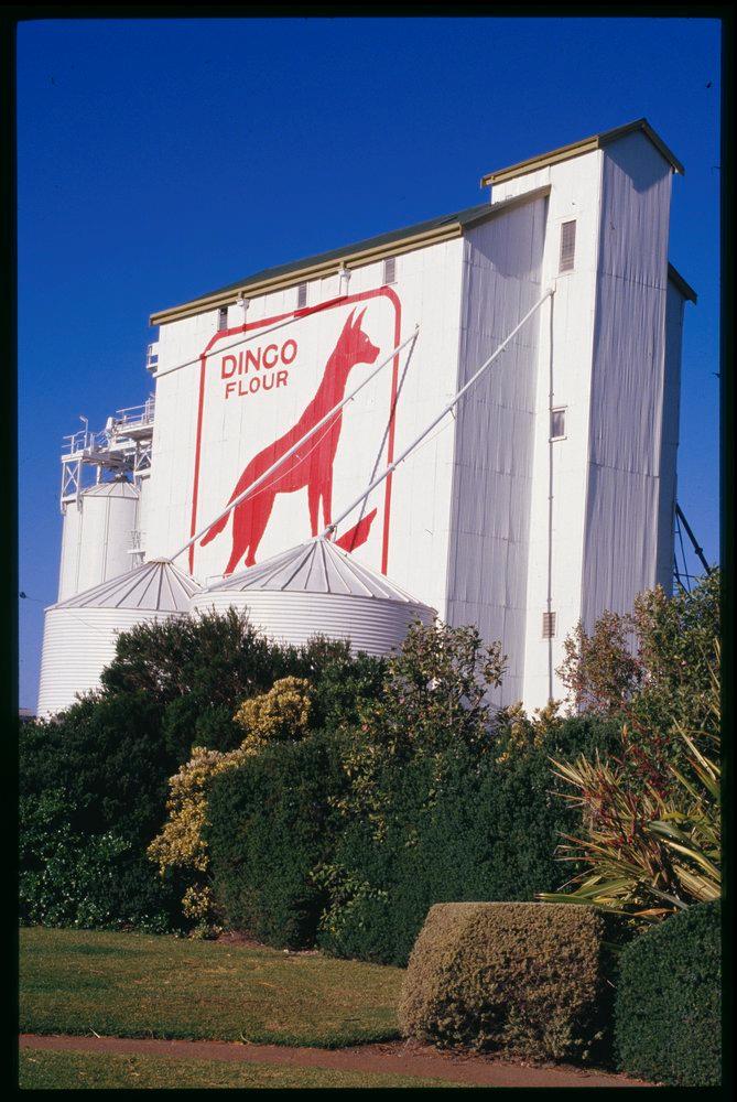 Heritage-listed Dingo Flour Mill, Fremantle, Perth, WA, Australia