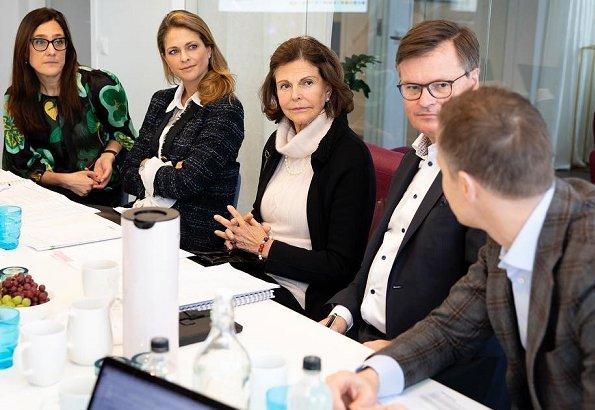 Queen Silvia and Princess Madeleine attended fundraising dinner held at Tyrol Gröna Lund