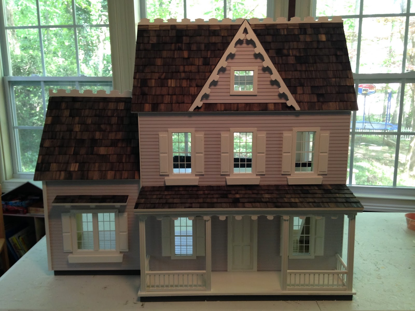 Heres A Few Pictures Of Vermont Farmhouse I Completed In My Package B Finishing With Addition It Turned Out Very Nice