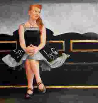Призрачные и чувственные картины. Tina Garrett
