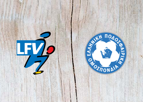 Liechtenstein vs Greece - Highlights 23 March 2019