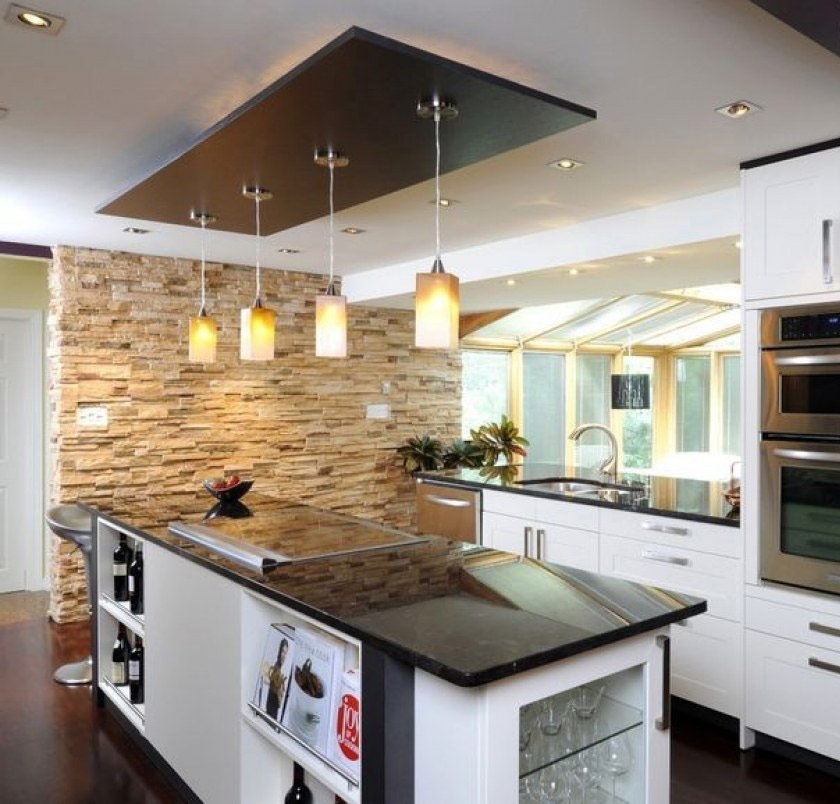 Kitchen False Ceiling Images
