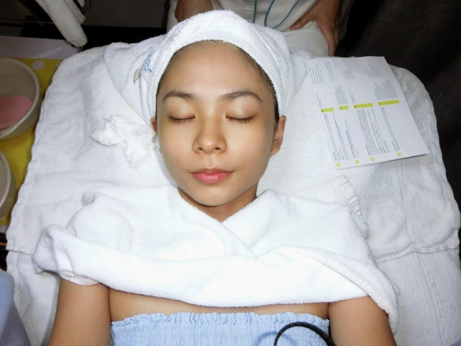 My first facial treatment at Caring Skin - XINLIN