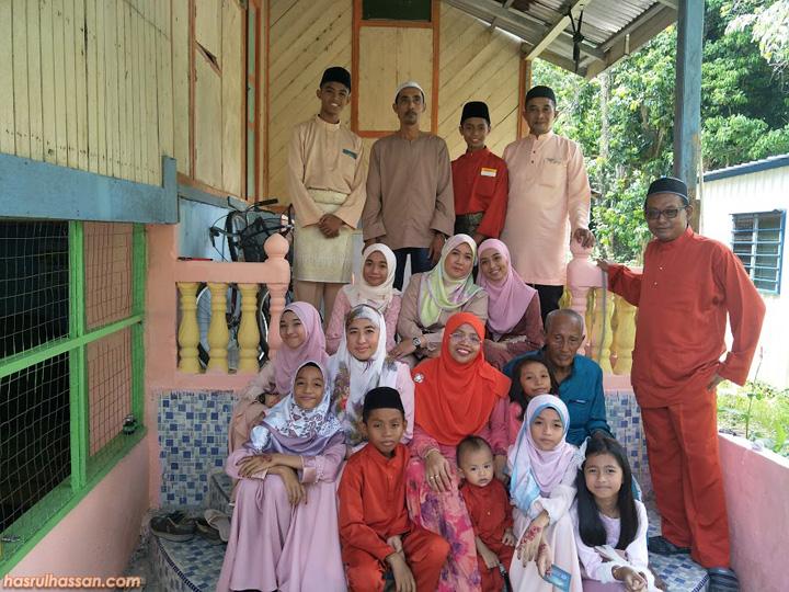 Keluarga Zainal Arpin, Kg Ekor Lambat, Parit, Perak