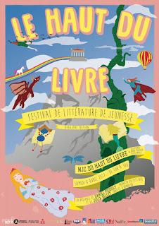 Festival Haut du Livre Nancy bd jeunesse livre littérature culturel grand-est association