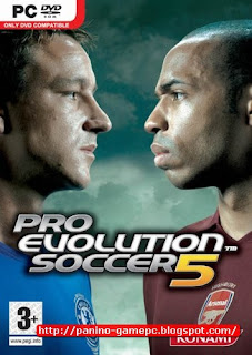 Pro Evolution Soccer (PES) 2005 For zippyshare