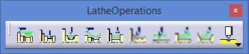 Lathe opeartion Catia V5 CAD-CAM