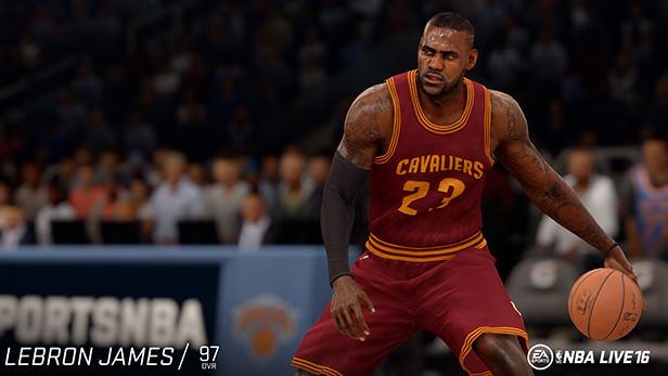 NBA Live 16 LeBron James