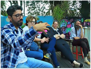 Bate-papo de Bonequeiros - Tiago Almeida, Júlia, Lisiane Berti e Nelson Haas