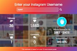Cara Mengetahui Harga Akun Instagram Kita