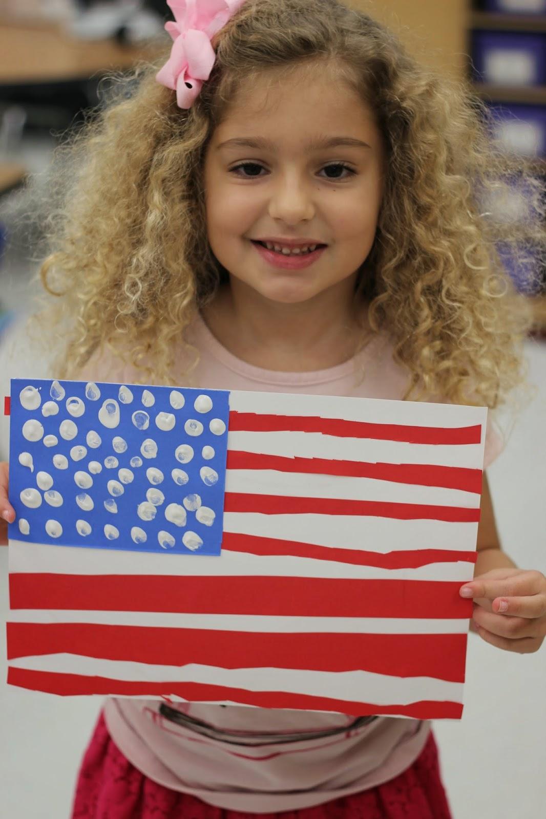 Kindergarten Smiles America Unit Week 1