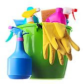 cleaning-supplies-in-a-green-bucket-pictures__k19437248.jpg