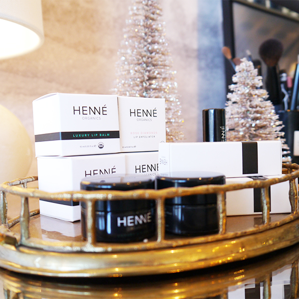 Henné Organics products