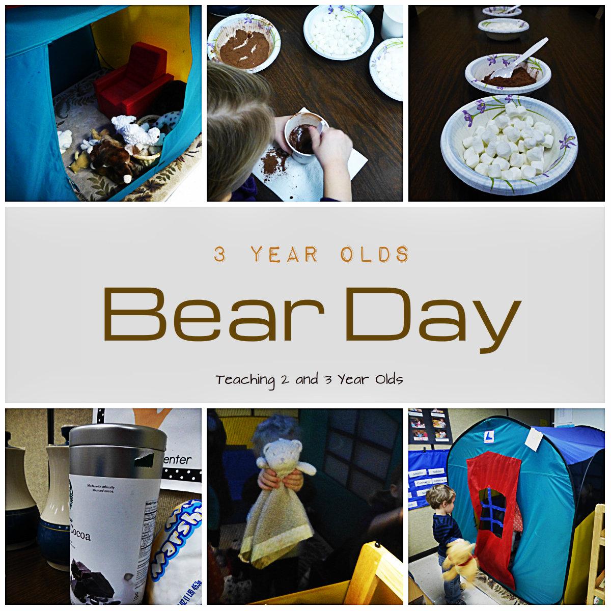 Preschool Teddy Bear Day