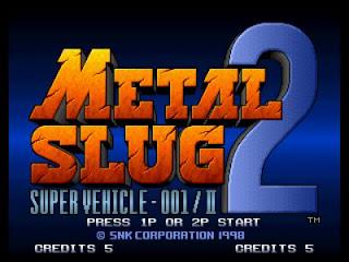 Metal Slug 2 Game Free Download Full Version
