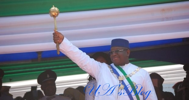 Osinbajo attends inauguration of Sierra Leone's President Bio