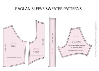 Dog Sweater Patterns Raglan Sleeve Mimi Tara