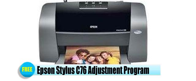 Epson Stylus C76 Adjustment Program