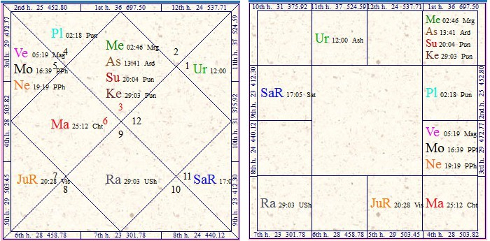 Vedic Astrology Research Portal: Sun and Mercury With Rahu