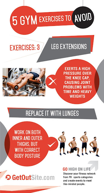 Replace it with Lunges