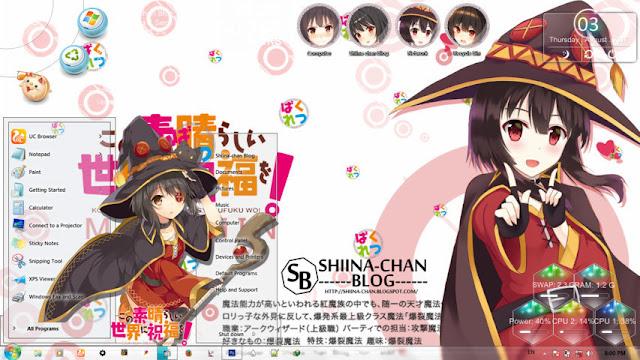 Kono Subarashii Sekai ni Shukufuku wo! - Megumin Theme Win 7 by Enji Riz Lazuardi