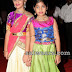 Little Girls in Silk Half Sarees