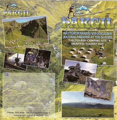 Þakgil (Thakgil) Brochure
