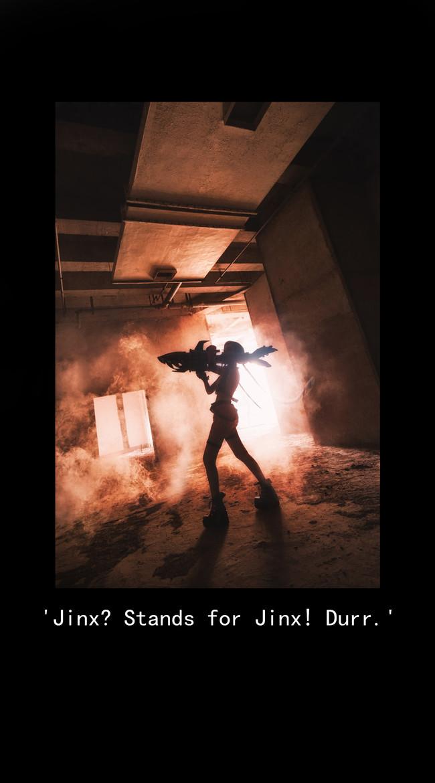 Tổng hợp ảnh Cosplay Jinx với khẩu pháo nổi loạn