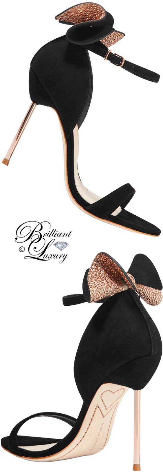 Brilliant Luxury ♦ Sophia Webster Maya Sandal