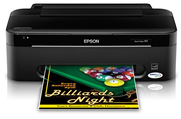 Printer Epson Stylus N11 Driver Download
