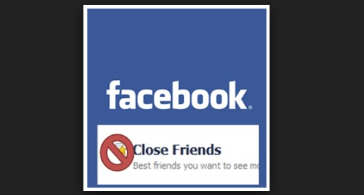 How to remove close friends on facebook