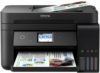 printer is the grouping leader amid 5 model siblings of the same historic menses Epson Ecotank ET-4750 Driver Download