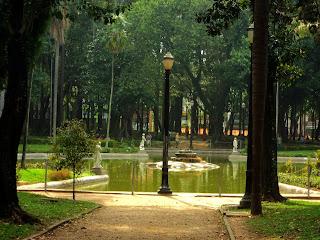 Lago do Parque da Luz, São Paulo