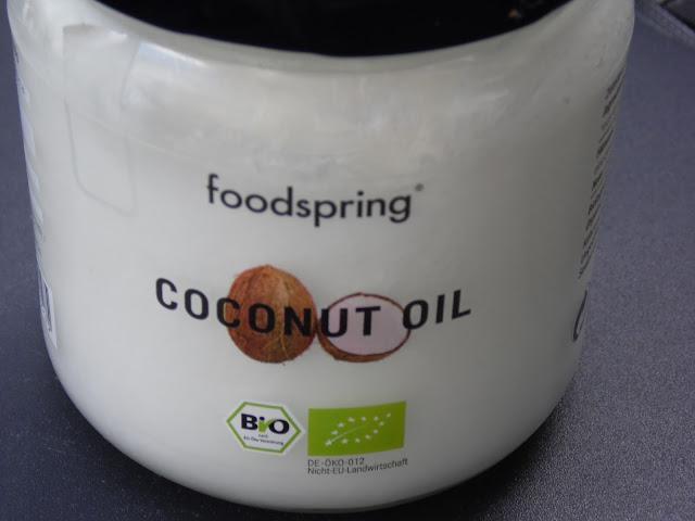 foodspring, huille coco, bio