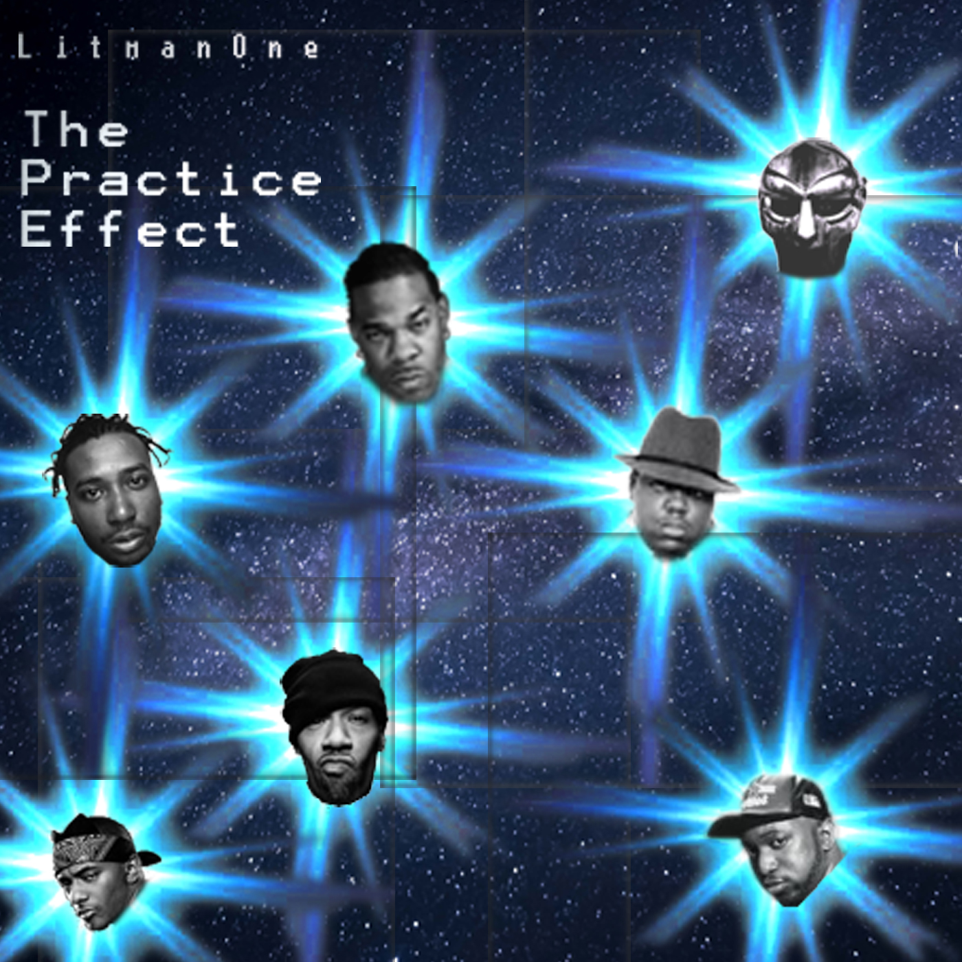 The Practice Effect by Litman | Oldschool Eastcoast MCs Remix Album