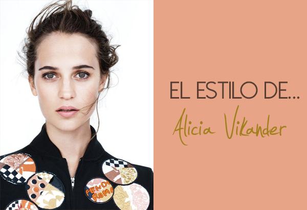 Alicia Vikander estilo