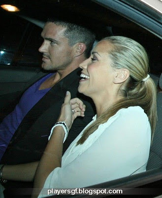 Kevin Pietersen and his wife Jessica Taylor hot picture