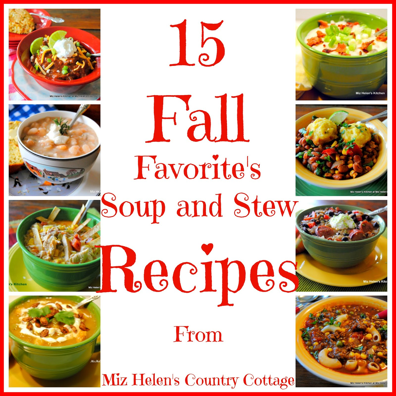 15 Fall Soup and Stew Recipes