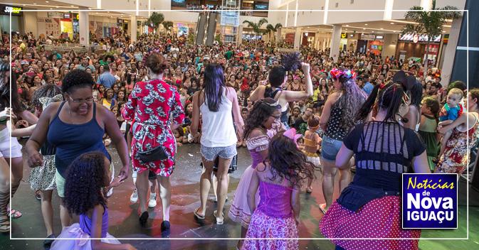 O Carnaval invade o Shopping Nova Iguaçu. InícioNova IguaçuBaixada  Fluminense ae1c583f7b7d5