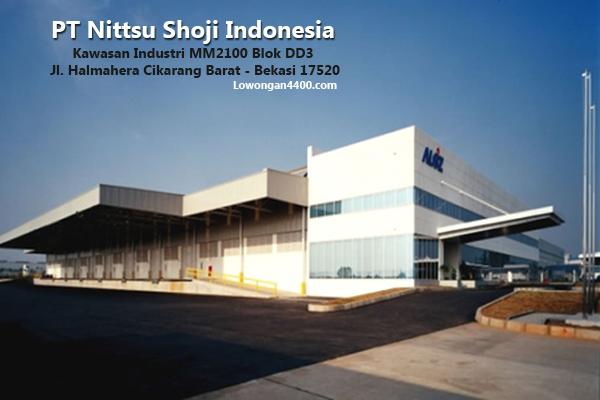 Lowongan Kerja Terbaru PT Nittsu Shoji Indonesia