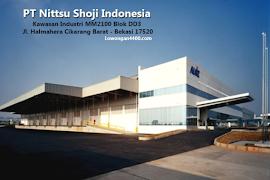 Lowongan Kerja Terbaru PT Nitssu Shoji MM2100