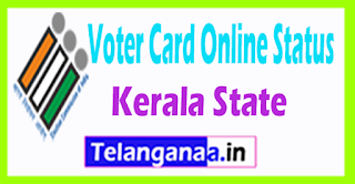 CEO Kerala New voter ID Status Online