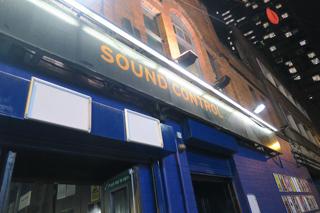 Exterior of Sound Control in Manchester
