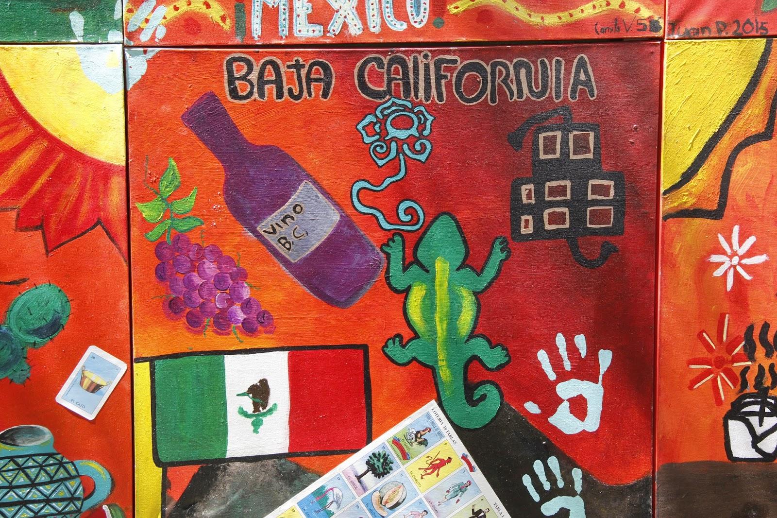 Educaci n bc exposici n de murales art sticos m xico for Arte mural en mexico