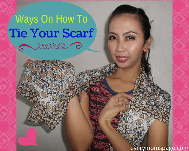 Ways on How to Tie Your Scarf